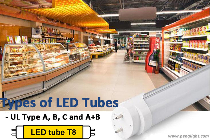 UL Types of LED Tubes: Type A, Type B, Type C And Type A+B